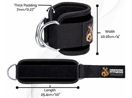 DMoose Fitness Ankle Strap for Cable Machines (Single)