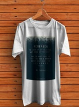 Quotes Stephen Hawking T- Shirt Men's White - $15.00+