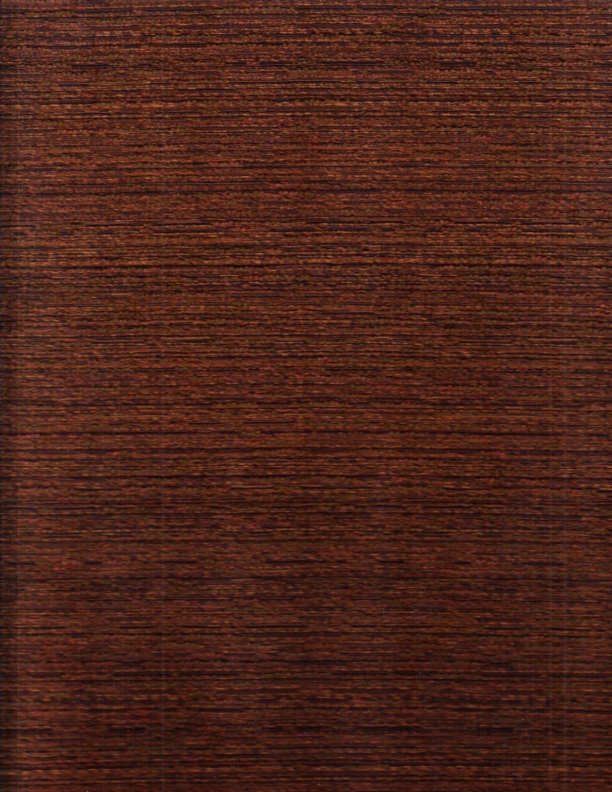Jahrhundertmitte Moderne Polsterstoff Anzeige Herren Tweed Kastanienbraun 8.2m