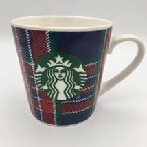 Starbucks Plaid Vacances Café Thé Cacao Tasse Mug 18 OZ Pull Noël Collec... - $16.68