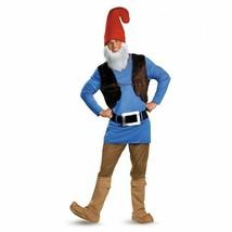 Disguise Papa Gnome Schlumpf Tunika Weste Hose Adult Herren Halloween Mo... - £31.42 GBP