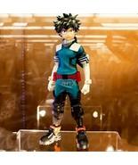 25cm Anime My Hero Academia Figure PVC Age of Heroes Figurine Deku Action - $32.59