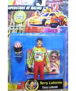 Terry Labonte Special Edition Collector Card Figurine and Helmet - $12.00