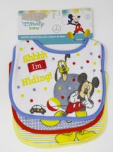 Disney Baby Set of 3 Mickey Mouse Bibs - $12.99