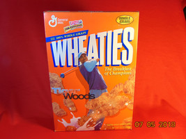 1995 Wheaties Box, with Tiger Woods on the Front. Sealed Box - $15.99