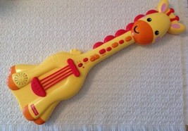 Fisher Price Music Giraffe Guitar - KFP2112, 10 Demo Melodies, 3 Guitar ... - $10.89