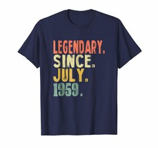Brother Shirts - 59th Birthday Gifts Vintage Legendary 1959 Shirt Awesom... - $19.95+