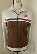 The North Face Size Small Brown A5 Series Women's Full Zip Track Jacket ... - $21.37