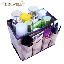 Organizer box makeup organizers Cosmetic storage box women bag Container Station - $21.42