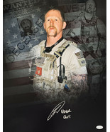 """Robert O'Neill Signed 16x20 Collage Photo Inscribed """"Never Quit"""" JSA - $146.51"""