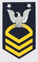 NAVY E-9 MASTER  CHIEF PETTY OFFICER STICKER DECAL - $13.53