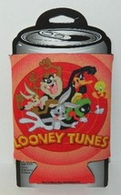 Looney Tunes Logo and Characters Beer Huggie Can Cooler Koozie NEW UNUSED - $6.43