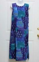 New 10P R&K Originals Womens Blue Purple Green Design Poly Sleeveless Lo... - $16.50