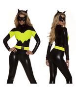Black Batwoman Batman Cosplay Costume Jumpsuits Zentai Bodysuit - $33.31