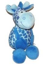 """2008 Coinstar Sugar Loaf Blue Giraffe Plush Lovey Stuffed Animal 16"""" Toy - $24.63"""