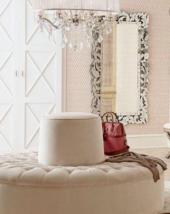 "Horchow Gianeta VENETIAN Engraved ORNATE Wall Dressing Buffet Mirror 72"" $1410 - $845.56"