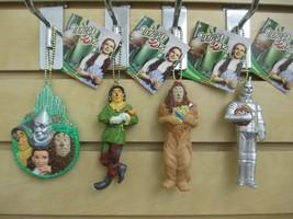 Set of 4 - WIZARD of OZ Ornaments - Lion, Scarecrow, Tin Man, & Friends ... - $20.00