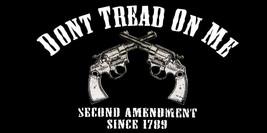 Lot of 6 2nd Amendment Since 1789 Don't Tread On Me Pistols Decal Bumper Sticker - $13.88