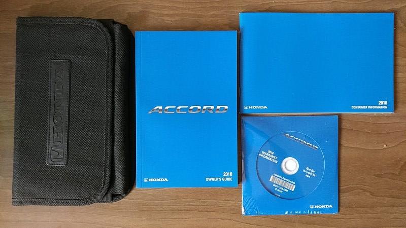 Honda Owners Manual >> 2018 Honda Accord Owner S Manual Book Guide And 50 Similar Items