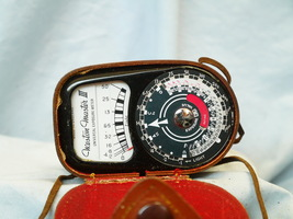 Weston  Master III EARLY Vintage Light Meter Cased -Nice- - $12.00