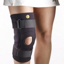 "Corflex Hinged Knee Brace Sleeve-L-Neoprene-1/8""-No Op Pop (no opening behind kn - $55.99"