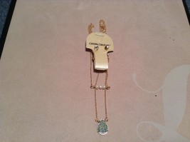 NEW Crystal Couture Gold/Crystal Necklace/Earring Set image 2