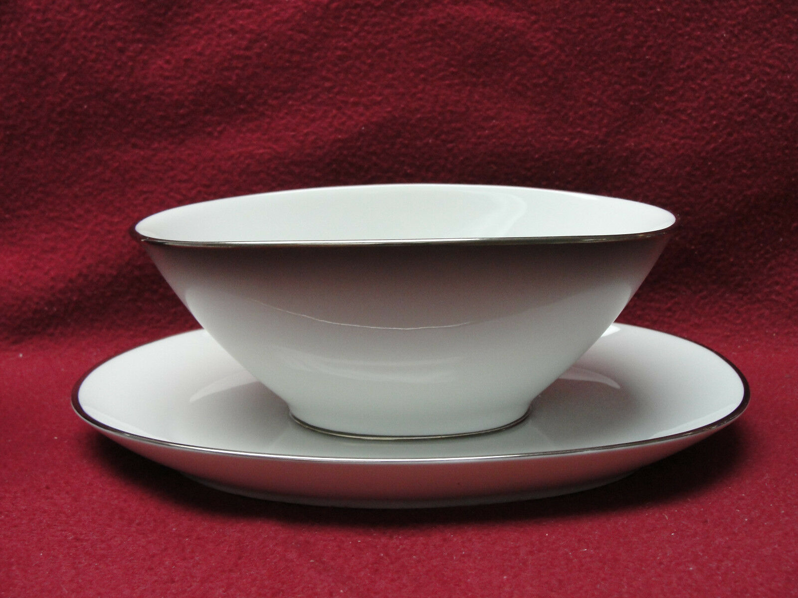 Primary image for ROSENTHAL China - ELEGANCE Pattern (Bettina) - GRAVY BOAT