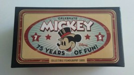 New Upper Deck Celebrate Mickey 75 Years Of Fun Collectible Filmography ... - $9.00