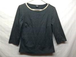 Annie Walwyn Jones 3/4 Sleeve Pullover Shirt Sz S