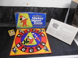 Old Vtg 1976 Parker brothers Wald Disney's MICKEY MOUSE GAME No. 161 - $19.79