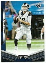 2019 Panini Playoff card #170 - Jared Goff - LA Rams - NM/MINT - $1.09