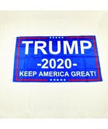 Donald Trump 2020 Flag Keep America Great Again USA President Elections ... - $7.69