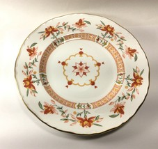 "Royal Worcester Orange Chamberlain Salad Plate s 8 1/8""  England Prince ... - $19.78"