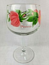 Set of 4 Vintage Franciscan Ware Desert Rose 10 oz Wine Glass Goblet Gla... - $28.49