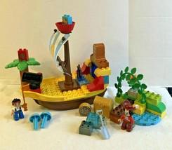 Lego Duplo Jake Neverland Pirates Beach Racing Pirate Ship 10514 - $49.49