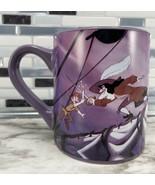 Disney Peter Pan w/ Captain Hook Ship Battle Coffee Cup Mug 14oz Silver ... - $26.68