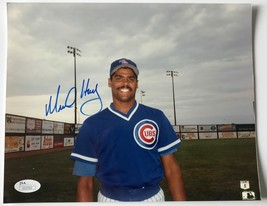 MIKE HARKEY SIGNED 8X10 JSA COA PHOTO AUTOGRAPH 8X CHICAGO CUBS - $29.95