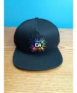 C4 Rainbow Embroidered Promotional Strapback Baseball Hat Cap  - $19.79
