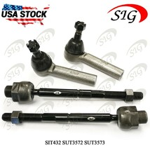 4Pc JPN Suspension Tie Rod End Inner Outer Set For Dodge Durango 4WD 200... - $39.59