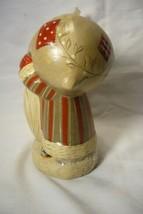 Vaillancourt Folk Art, Gnome Like Santa FC with  Bag signed by Judi! image 2