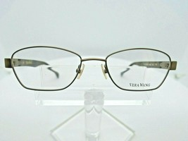 VERA WANG V 335 (YG) Gold 51 X 17 130 mm Eyeglass Frame - $79.15