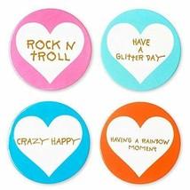 Betsey Johnson xox Trolls Set of 4 Assorted Coasters - $30.44 CAD