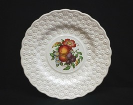 Old Vintage Alden by Spode Luncheon Plate #7 Ring Fruit Daisy Copeland England - $19.79