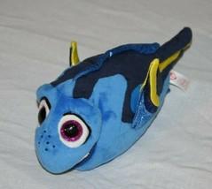 "TY Beanie Boos Disney Finding Nemo DORY 10"" Blue Bean Bag Plush Pixar Soft Toy  - $12.57"