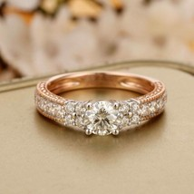 Brilliant 5mm Round Cut Diamond Solitaire with Accents Engagement Weddin... - $93.06
