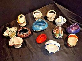 Czechoslovakia Ceramic Basket AA18-1368-G Vintage image 6