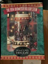1994 Budweiser Holiday Stein - $20.00