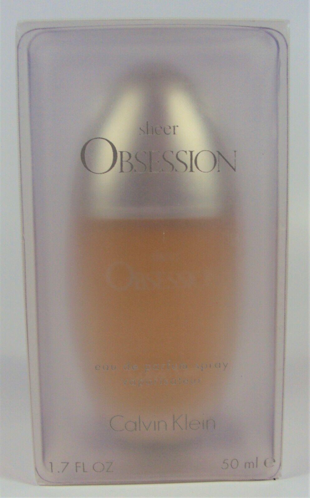 Aaaaaacalvin klein sheer obsession 1.7 oz perfume