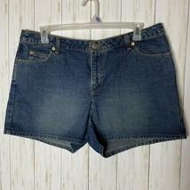 Old Navy Womens Size 16 Jean Shorts Dark Wash Casual Denim  EUC - $13.85