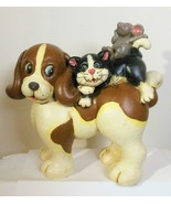 Best Friends Dog Cat and Mouse Resin - $21.00